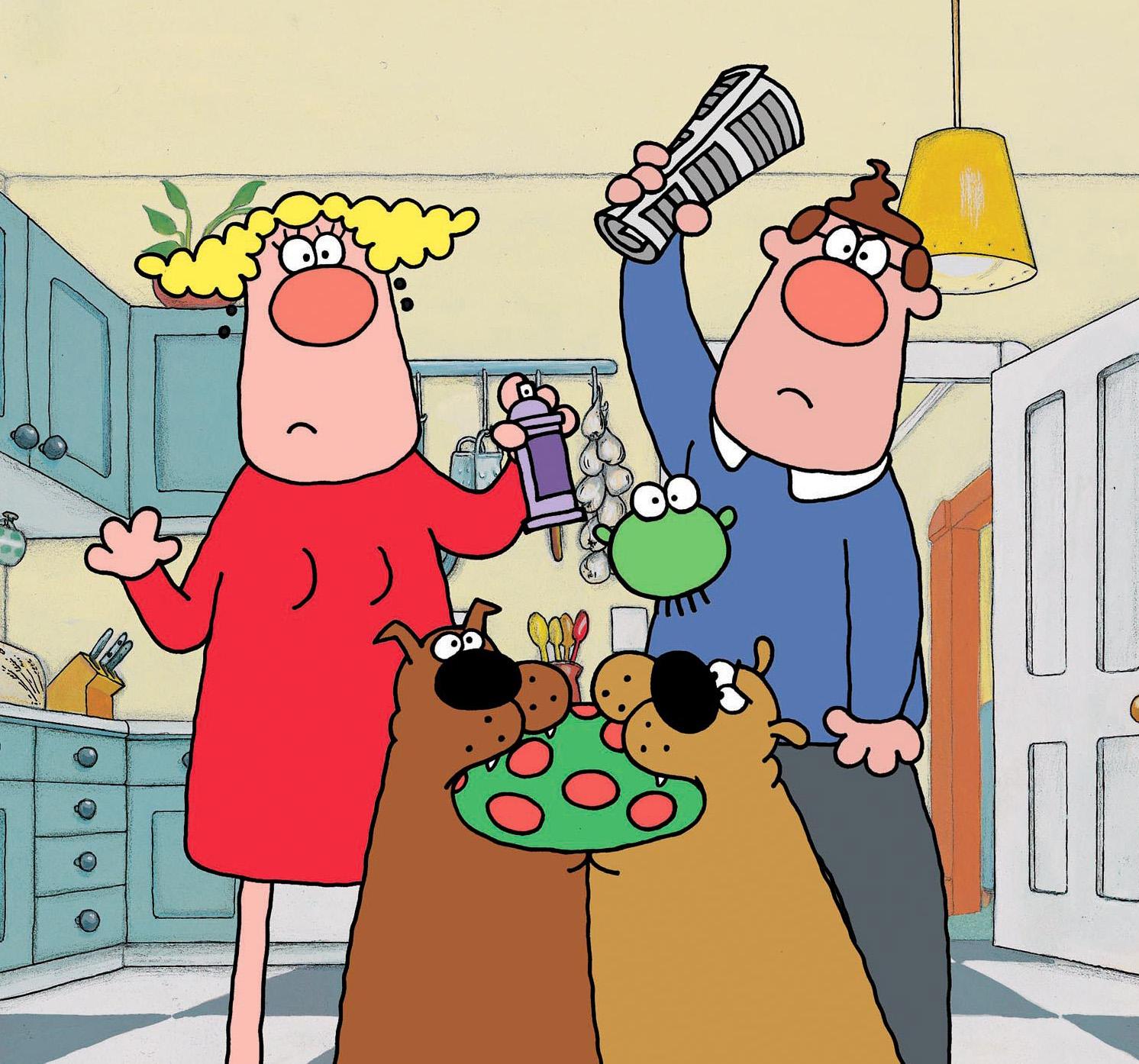 Bob and Margaret – Snowden Fine Animation